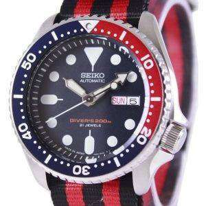 Seiko Automatic Divers 200M NATO Strap SKX009J1-NATO3 Mens Watch