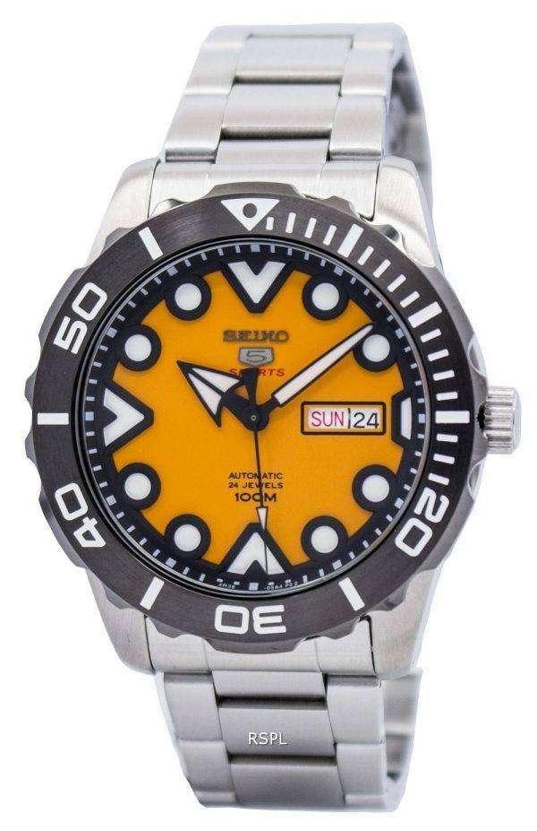 Seiko 5 Sports Automatic 24 Jewels SRPA05 SRPA05K1 SRPA05K Men's Watch