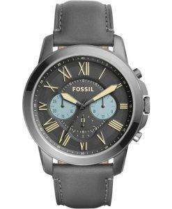 Fossil Grant Chronograph Quartz Gunmetal Dial FS5183 Mens Watch