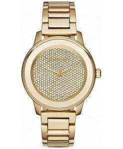 Michael Kors Kinley Quartz Crystal Pave Dial MK6209 Womens Watch