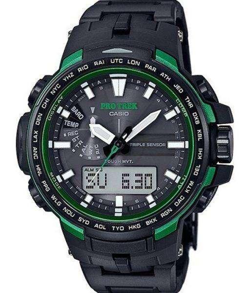 Casio Protrek Analog-Digital Atomic Triple Sensor PRW-6100FC-1JF Watch