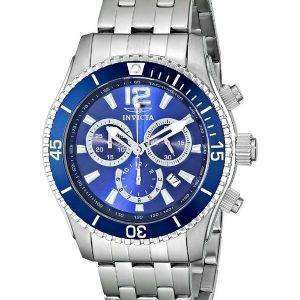 Invicta II Specialty Blue Dial Chronograph 0620 Mens Watch