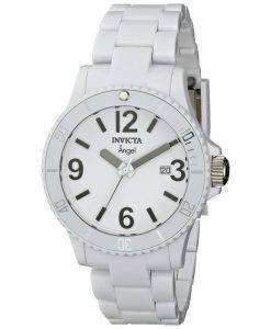 Invicta Angel White Plastic Swiss Quartz 1207 Womens Watch