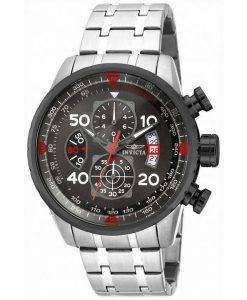 Invicta Aviator Chronograph Gunmetal 17204 Mens Watch