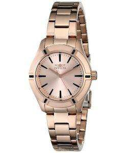 Invicta Pro Diver Quartz Rose Gold 18031 Womens Watch
