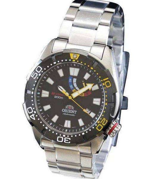 Orient M-Force Automatic 200M Diver Power Reserve WV0181EL Mens Watch