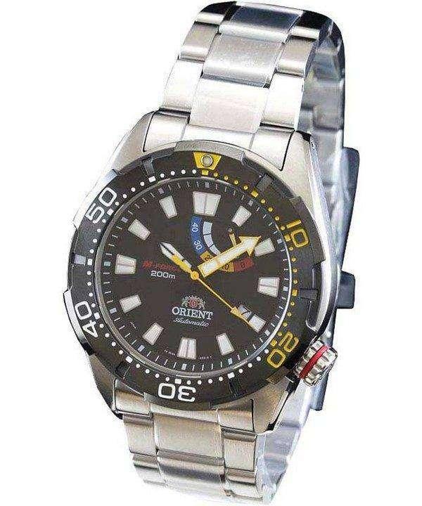 Orient M-Force Automatic 200M Diver Power Reserve WV0181EL Mens Watch