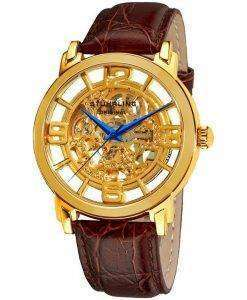 Stuhrling Original Winchester Grand Automatic Skeleton Dial 165B.3335K31 Mens Watch