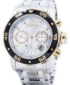Invicta Pro Diver Chronograph Quartz 200M 80040 Mens Watch