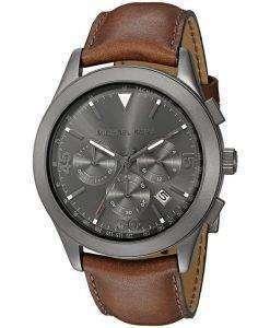 Michael Kors Gareth Chronograph Gunmetal Quartz MK8471 Men's Watch