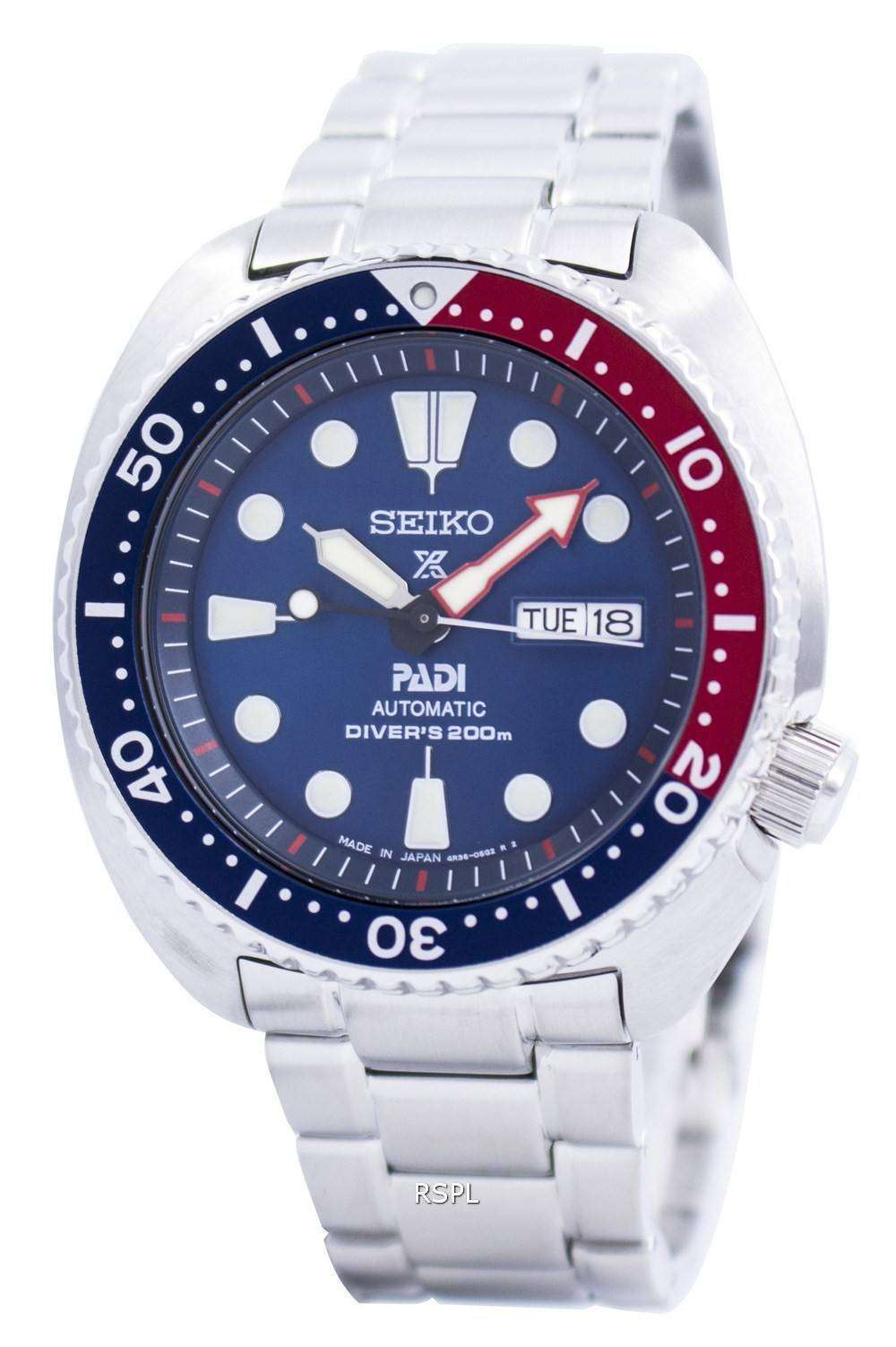 All Mens Sale Guess >> Seiko Prospex PADI Automatic Divers 200M Japan Made SRPA21