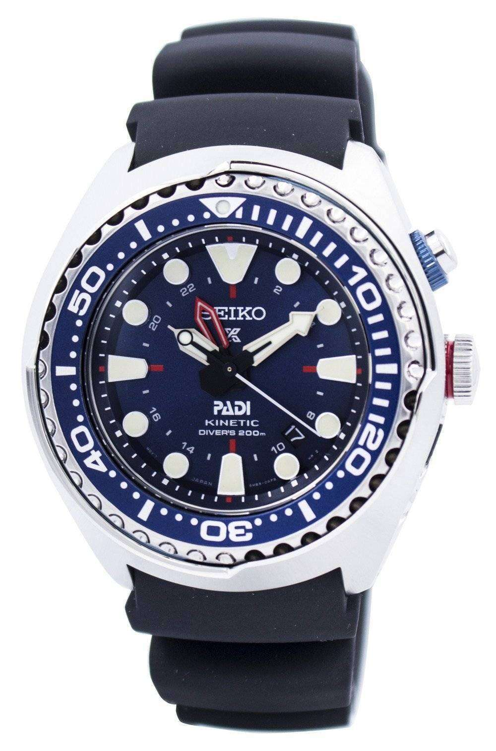 Seiko Prospex Kinetic GMT Diver s