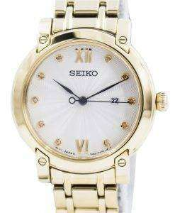 Seiko Quartz Diamond Accent SXDG80 SXDG80P1 SXDG80P Womens Watch