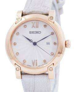 Seiko Quartz Diamond Accent SXDG82 SXDG82P1 SXDG82P Womens Watch