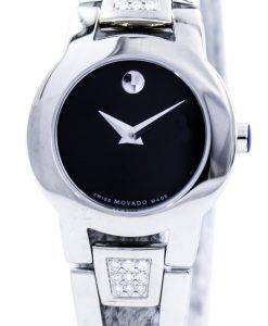 Movado Amorosa Swiss Made Quartz Diamonds 0604982 Womens Watch