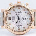 Seiko Chronograph Quartz Crystals SRW834 SRW834P1 SRW834P Womens Watch