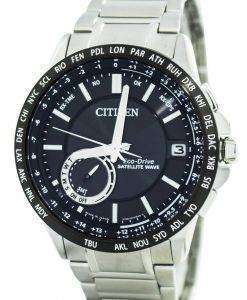 Citizen Eco-Drive Satellite Wave World Time Japan Made CC3007-55E Men's Watch