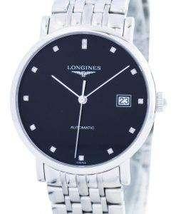 Longines Elegant Automatic Diamond Accent L4.810.4.57.6 Mens Watch