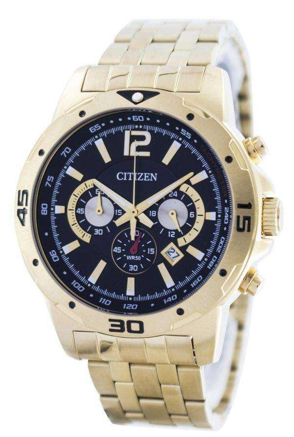 Citizen Quartz Chronograph AN8102-59E Mens Watch
