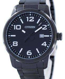 Citizen Quartz Black Dial BI1025-53E Mens Watch