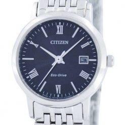 Citizen Eco-Drive Japan Made EW1580-50E Womens Watch