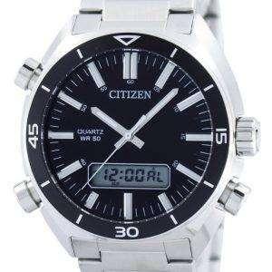 Citizen Quartz Alarm Chronograph Analog Digital JM5460-51E Mens Watch