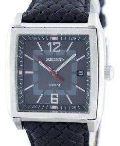 Seiko Quartz Square Shape SGED79 SGED79P1 SGED79P Men's Watch