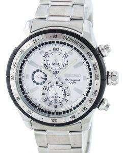 Seiko Quartz Alarm Chronograph Tachymeter SNAC83 SNAC83P1 SNAC83P Men's Watch