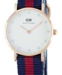 Daniel Wellington Classy Oxford Quartz Crystal Accent DW00100064 (0905DW) Womens Watch