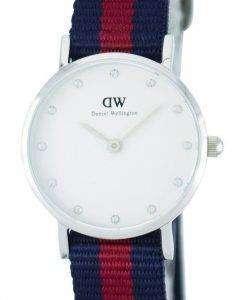 Daniel Wellington Classy Oxford Quartz Crystal Accent DW00100072 (0925DW) Womens Watch