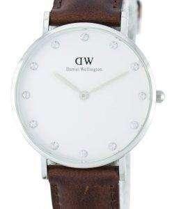 Daniel Wellington Classy St Mawes Quartz Crystal Accent DW00100079 (0960DW) Womens Watch