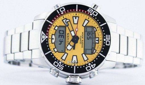 Citizen Aqualand Promaster Divers 200M Analog Digital JP1090-86X Mens Watch