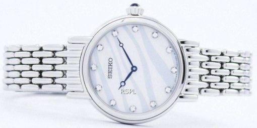Seiko Quartz Swarovski Crystals SFQ807 SFQ807P1 SFQ807P Women's Watch