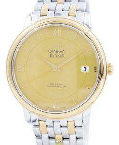 Omega De Ville Prestige Co-Axial Chronometer 424.20.37.20.08.001 Mens Watch