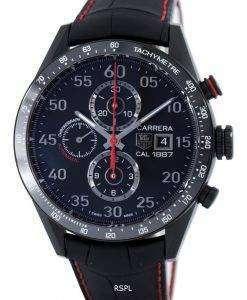Tag Heuer Carrera Automatic Chronograph Titanium Calibre 1887 Swiss Made CAR2A80.FC6237 Men's Watch