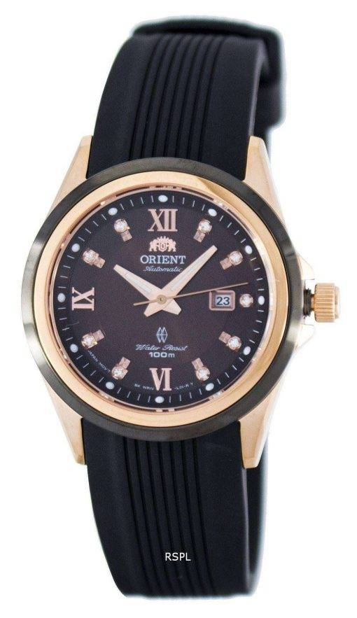 Orient Gem Automatic Power Reserve Crystal Accent FNR1V001T0 Women's Watch