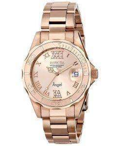 Invicta Angel Quartz Crystal Accent 200M 14398 Womens Watch