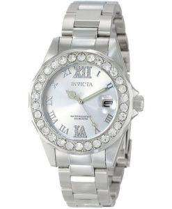 Invicta Pro Diver Quartz Crystal Accent 200M 15251 Womens Watch
