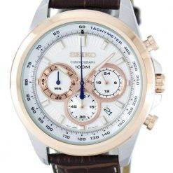 Seiko Chronograph Quartz Tachymeter SSB250 SSB250P1 SSB250P Men's Watch