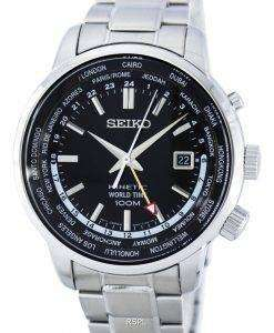 Seiko Kinetic World Time GMT SUN069 SUN069P1 SUN069P Men's Watch