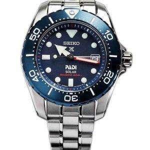 Seiko Prospex PADI Titanium Solar Divers 200M Limited Edition SBDN035 Womens Watch