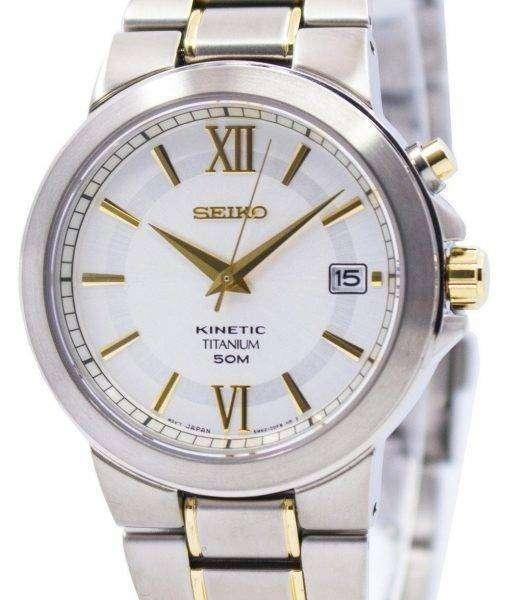 Seiko Kinetic Titanium SKA485 SKA485P1 SKA485P Men's Watch