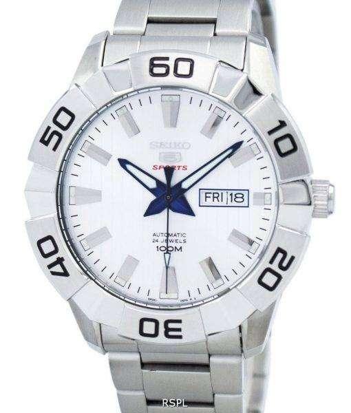 Seiko 5 Sports Automatic 24 Jewels SRPA49 SRPA49K1 SRPA49K Men's Watch
