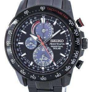 Seiko Sportura Perpetual Solar Multi-Function SSC427 SSC427P1 SSC427P Men's Watch
