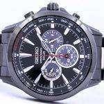 Seiko Solar Chronograph Tachymeter SSC497 SSC497P1 SSC497P Men's Watch