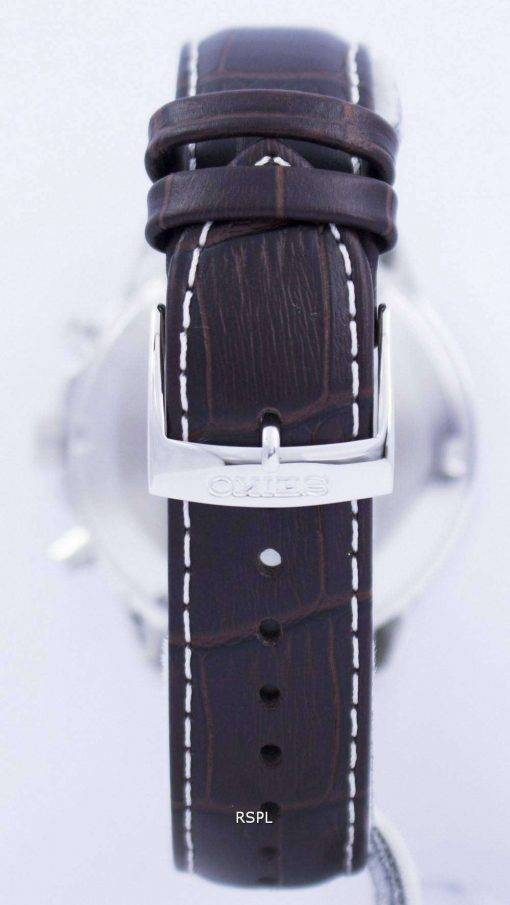 Seiko Solar Alarm Chronograph SSC501 SSC501P1 SSC501P Men's Watch