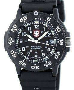 Luminox Sea Original Navy Seal 3000 Series Swiss Quartz 200M XS.3001 Mens Watch