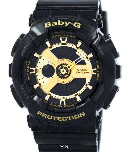 Casio Baby-G World Time Analog Digital BA-110-1A Womens Watch