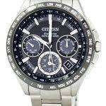 Citizen Eco-Drive Titanium Satellite Wave World Time CC9015-54E Men's Watch