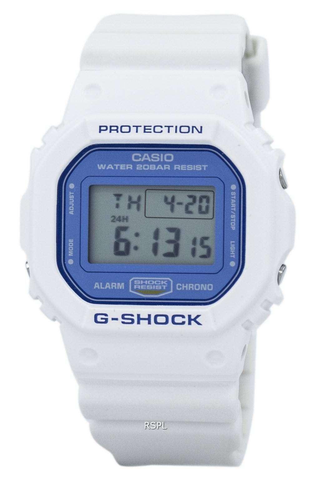 casio g shock digital alarm chrono 200m dw 5600wb 7 s